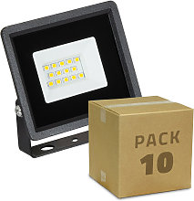 Pack Projecteur LED Solid 10W (10 Un) Blanc Neutre