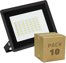 Pack Projecteur LED Solid 30W (10 Un) Blanc Neutre