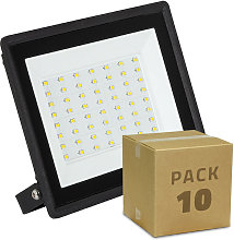 Pack Projecteur LED Solid 50W (10 Un) Blanc Froid