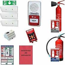 Pack sécurité incendie erp - restauration