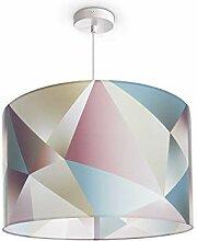 Paco Home Plafonnier LED luminaire suspendu salon