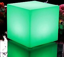 Paddia Étanche Lumineux LED Mood Cube Tabouret