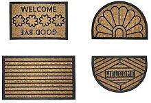 Paillasson en coco naturel : Rectangulaire Welcome