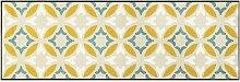 Paillasson en polyamide jaune 60x180