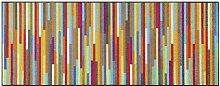 Paillasson en polyamide multicolore 75x190