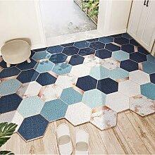 Paillasson géométrique d'entrée, tapis de