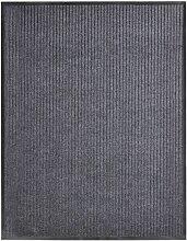 Paillasson Gris 160x220 cm PVC