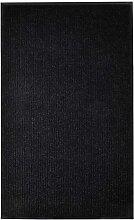 Paillasson Noir 160x220 cm PVC