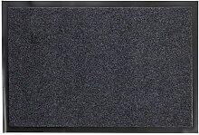 Paillasson Noir Antiderapant 40X60Cm
