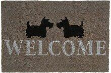 Paillasson Scottish Welcome