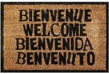 Paillasson welcome - 60 x 40 cm - bienvenue