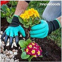Paire de gants de jardinage avec griffes - outil