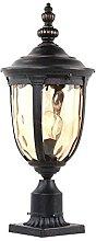PAKUES-QO E27 Antique Victoria Lanterne en Verre