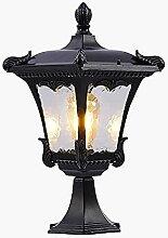 PAKUES-QO Lampe De Pilier Extérieure avec