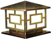 PAKUES-QO Lampe De Pilier Lampe De Colonne