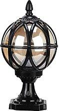 PAKUES-QO Lampe De Table en Verre Extérieure