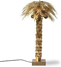 PALM - Lampe à poser Palmier Laiton/Métal