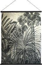 Palma - Déco murale imprimé palmier - Couleur -