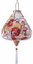 Panda Legends Lanterne Chinoise en Tissu Peint
