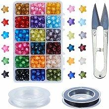 PandaHall Elite - 378-450pcs Perles Acryliques