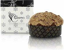 Panettone Artisanal avec Chocolat, Poire et Noix -