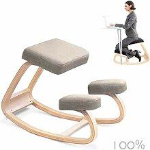 PANGPANGDEDIAN Ergonomique Genoux Chaise Yoga