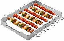 Panier de barbecue pliable en acier inoxydable