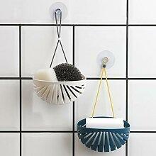 Panier de rangement pour éponge et savon, support