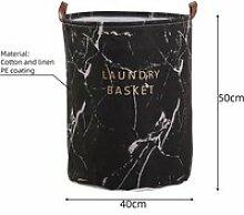 Panier de rangement rond large, sac à linge, bac