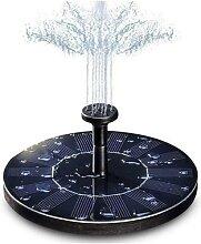 Panneau de fontaine à énergie solaire flottante,