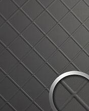Panneau décoratif aspect cuir 19546 CORD Charcoal