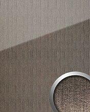 Panneau mural aspect verre 20219 ALIGNED Silver