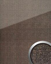 Panneau mural aspect verre 20222 GRID Silver AR+