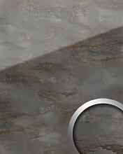 Panneau mural aspect verre 20223 GENESIS Grey AR+