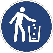 Panneaux indiquant les mesures de sécurité