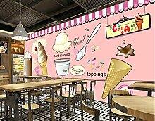 Papier adhesif mural Crème glacée crème glacée