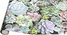 Papier Adhesif Mural Papier Peint Floral À Peler