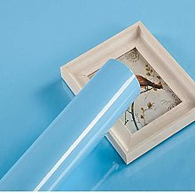 Papier Adhesif pour Meuble Bleu 30cm X 3m