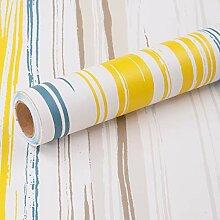 Papier Adhesif pour Meuble Coloré Ligne 45cmX3m