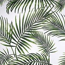 Papier Adhesif pour Meuble Feuilles Vertes 45cmX2m