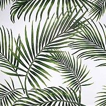 Papier Adhesif pour Meuble Feuilles Vertes 45cmX5m