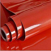 Papier Adhesif pour Meuble Rouge 30cm x 3m