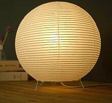 Papier De Lampe De Table De Chevet, Lampes Sur