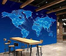 Papier Peint 3d Murales Panoramique Carte Du Monde