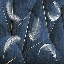 Papier Peint Adhesif Mural, Impression Abstraite