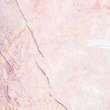 Papier Peint Adhesif Mural,Motif De Marbre Rose