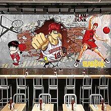 Papier peint Anime couleur dragon ball café