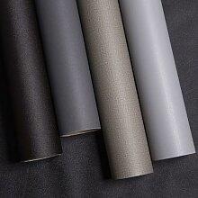 Papier peint auto-adhésif en PVC blanc mat,