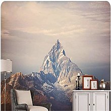 Papier peint carte murale pic Himalaya neige
