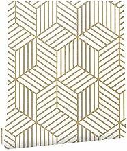 Papier peint décoratif Peler géométrique papier